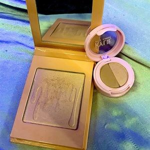 Kylie highlighter kyshadow bundle USED, great condition!